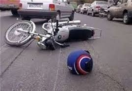 جان باختن راننده جوان موتورسیکلت در آستانه اشرفیه