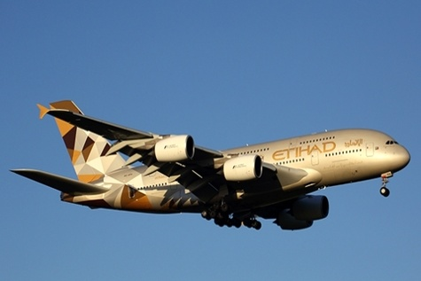 Etihad doubles A380 services to New York