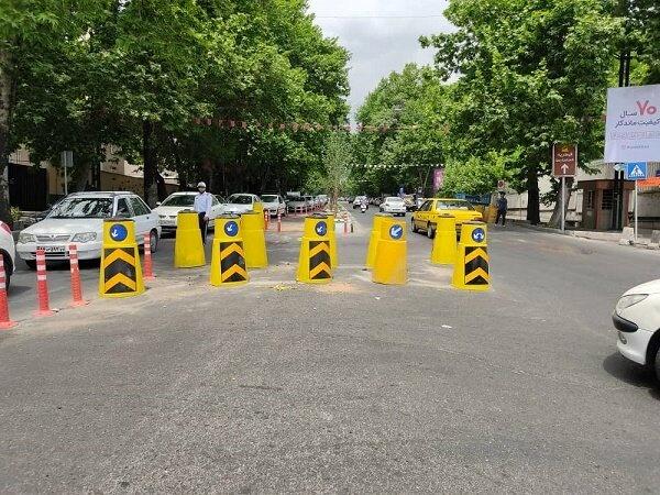 گره های ترافیکی خیابان شریعتی باز شد