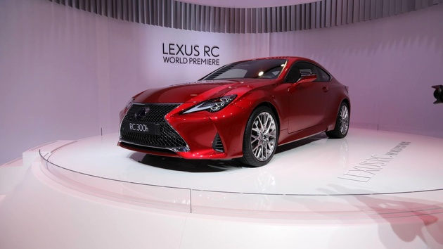 2019 Lexus RC Brings Its Refreshed Face To Paris