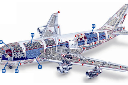 AIRBUS A380 [MORE THAN 600 PASSENGER'S CAPACITY PLANE]