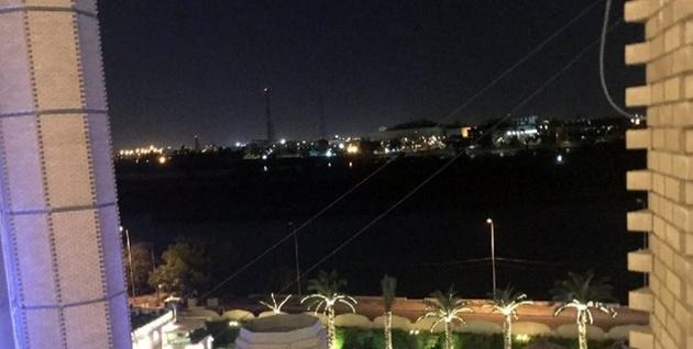 شلیک سه راکت به نزدیکی سفارت آمریکا در بغداد