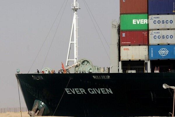 جریمه ۹۰۰ میلیون دلاری برای کشتی در مصر
