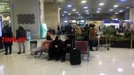 (تصاویر)  وضعیت نرمال در فرودگاه مهرآباد