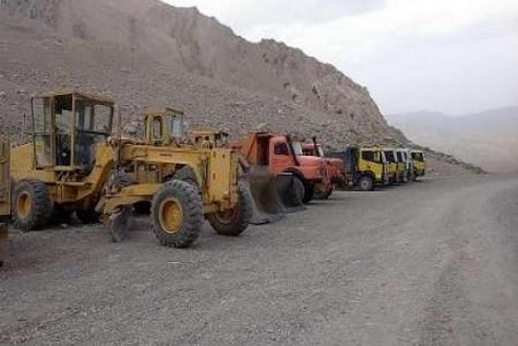 آسفالت جاده سی سخت - پادنا به طول ۱۳ کیلومتر آغاز شد