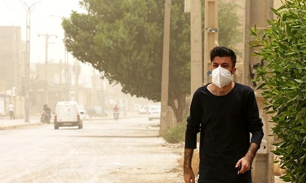 خیزش گردوخاک و کاهش کیفیت هوا در برخی استانها