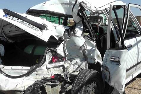 تصادف مرگبار در محور مهران - ایلام ۳ کشته برجای گذاشت