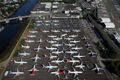 هواپیماهای زمین گیر شده بوئینگ 737 مکس در ایالت واشنگتن