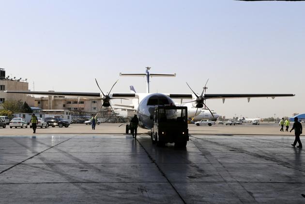 نخستین چک دوساله هواپیمای ATR در کشور در حال انجام است