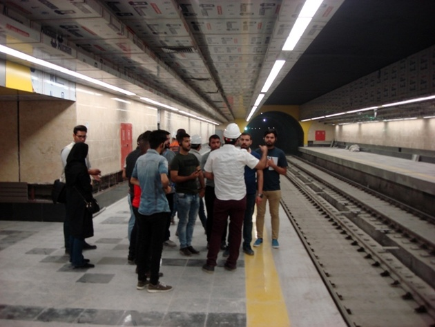 کاهش زمان سرویسدهی در خط 6مترو تهران