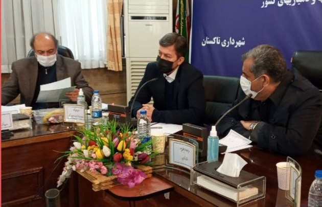 برگزاری نشست شهرداران استان قزوین با حضور رییس سازمان شهرداری ها و دهیاری های کشور