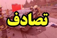 ٤ نفر در حادثه برخورد دو پژو ٤٠٥ سوختند