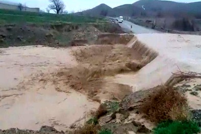 خسارت بیش از 526 میلیارد ریالی سیل به خراسان شمالی