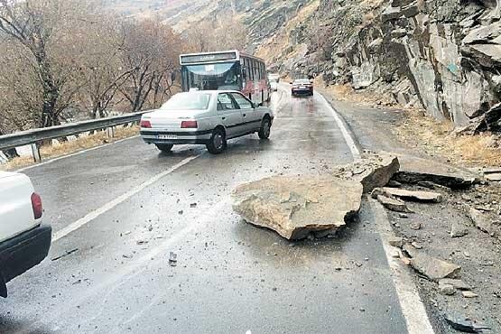 خطرناکترین روزهای جاده چالوس!