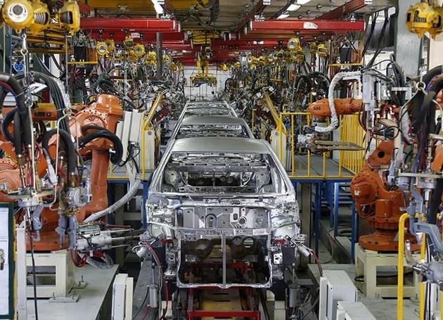 تولید خودروی انگلستان به شدت افت کرده است