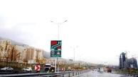 نوسازی و نصب المان ها و علائم ترافیکی محدوده ورودی غربی پایتخت