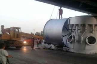 حادثه هولناکی که در محور قوچان-مشهد رخ داد