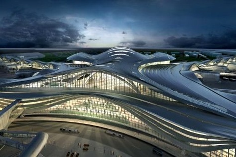 Abu Dhabi International Airport completes de - propping on new MTB roof
