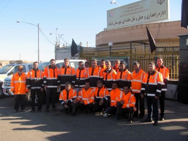 آمادهباش کامل اداره راهداری و حملونقل جادهای شهرستان تایباد