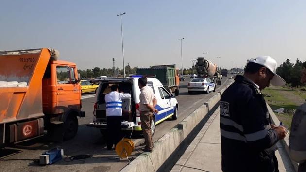 استقرار دوباره واحدهای سیار تست کنار جادهای در سطح شهر تهران