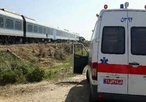 برخورد قطار با عابر پیاده در نکا حادثه آفرید