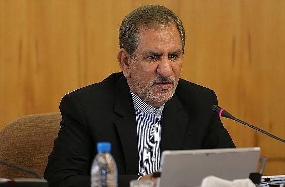 درخواست جهانگیری برای اتصال بوشهر به عنوان پایتخت انرژی کشور به شبکه ریلی