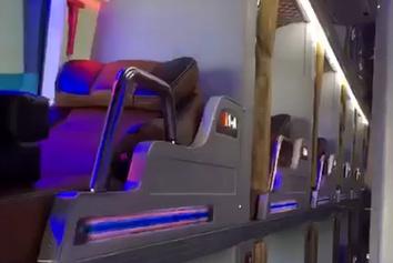 فیلم  اتوبوس مسافری برون شهری فوق پیشرفته