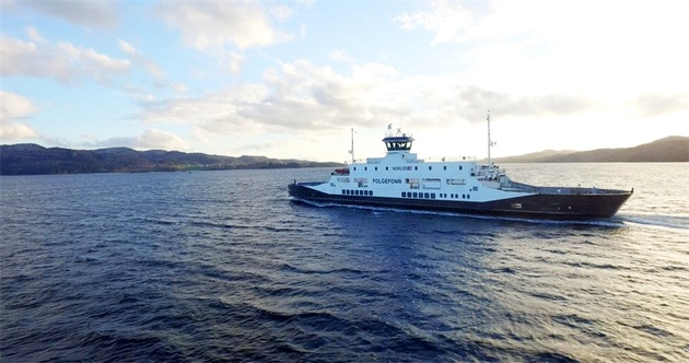 Visiting Three Ports, Ferry Successfully Completes Fully Autonomous Test in Norway