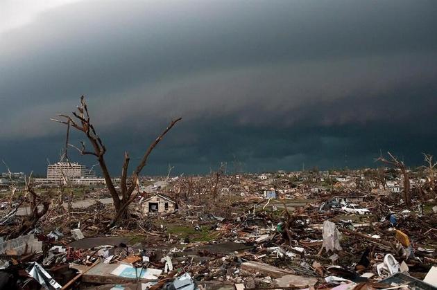 ۷ کشته و صدها زخمی بر اثر طوفان شدید در چین