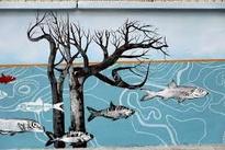 چند نقاشی دیواری جالب ببینید