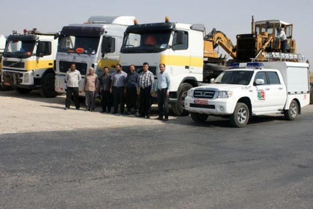 استقرار راهداران آذربایجانشرقی برای تسهیل سفر زائران در مرز مهران