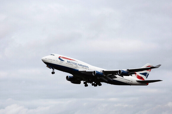 British Airways says goodbye to the first of its last Boeing 747 Jumbo jets