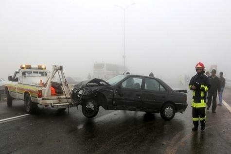 افزایش 29 درصدی فوتی ناشی از تصادفات رانندگی در مازندران
