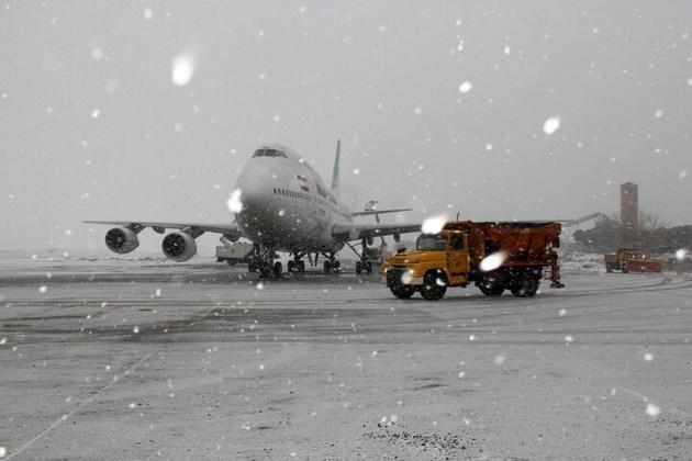 باند فرودگاه ارومیه برای نشست و برخاست هواپیما آماده است