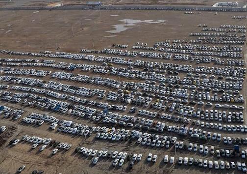 آمادگی ۱۱ پارکینگ جدید در مرز شلمچه