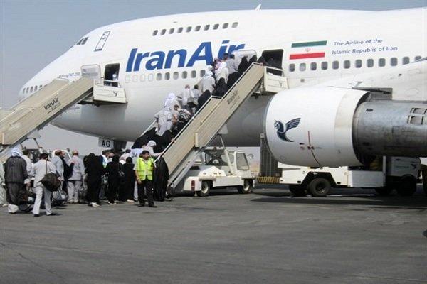 4705 زایر از فرودگاه تبریز به سرزمین وحی مشرف میشوند
