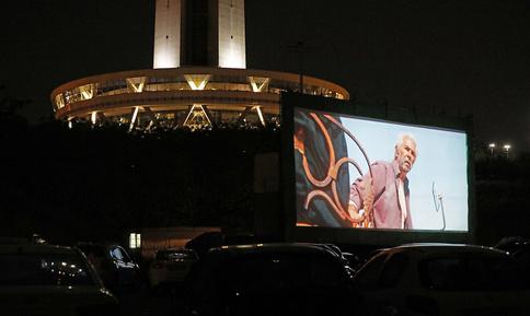 اولین «سینما ماشین» کشور در برج میلاد