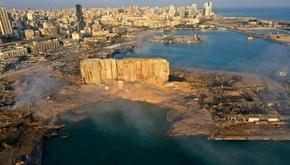 عکس | انفجار در بیروت