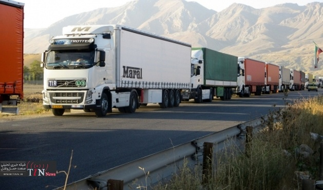 بالغ بر ۷میلیون و ۸۹۳ هزار تن کالا از مرزهای کشور ترانزیت شد