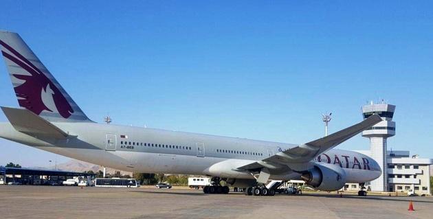 فرود اضطراری دو هواپیمای قطرایرویز در فرودگاه شیراز