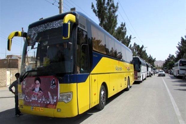 اعزام  ۳۲۰۰ نفر از استان سمنان به مرقد امام خمینی