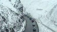ارتفاعات چالوس برفی میشود
