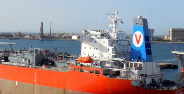 Varun's Gas Carriers Sold for Scrap