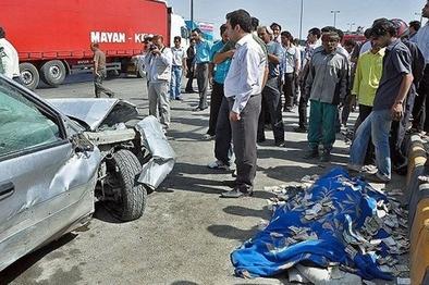۲۱۵ نفر براثر تصادف در جاده های زنجان جان خود را از دست دادند