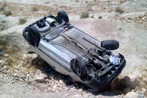 واژگونی خودرو در باوی خوزستان دو کشته بر جای گذاشت