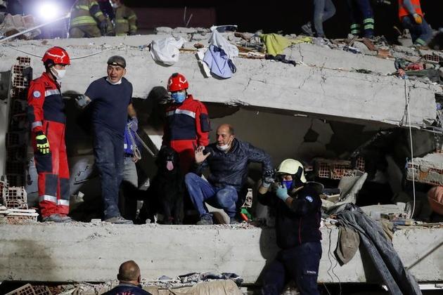 شمار قربانیان زلزله ترکیه به ۶۹ نفر افزایش یافت