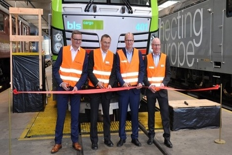 BLS Cargo takes delivery of Vectron locomotives