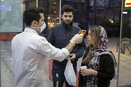 تدابیر کرونایی در یک مجتمع تجاری شمال شهر تهران