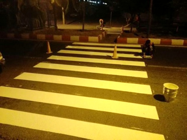 اجرای چندین اقدام ترافیکی در ایمن سازی معابر منطقه ۱۵