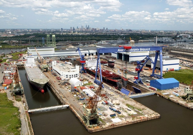 Philly Shipyard Starts Layoffs amid Lack of Orders